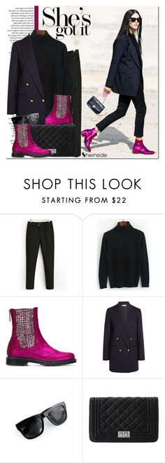 """She's got it"" by never-alone ❤ liked on Polyvore featuring Susana Traça, Michael Kors, Sheinside and shein"