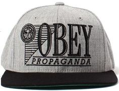 New Style Obey Snapback Hats Caps Gray 1699 Hurley Hats 740517a592d8