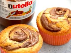 Banana and pecan cake - HQ Recipes Nutella Muffins, Nutella Cupcakes, Banana Recipes, Cake Recipes, Scones Ingredients, Pecan Cake, Bowl Cake, Creative Desserts, Crazy Cakes