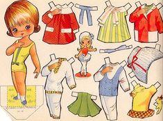 1963 Paper doll | Mi Casita de Papel | Un universo de recortables de papel | Página 10