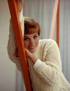 // Julie Andrews.