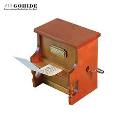 Gohide Yunsheng Music Box Movement Hand Tape Piano Music Box Valentine's Day Presents Birthday Gift Wooden Music Box Mechanism