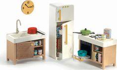 [ Details Djeco Modern Doll House Furniture Set Kitchen Kitchen Furniture Sets House ] - Best Free Home Design Idea & Inspiration Barbie Furniture, Dollhouse Furniture, Kitchen Furniture, Wood Furniture, Furniture Sets, Cubby Houses, Modern Dollhouse, Diy Dollhouse, Kitchen Sets