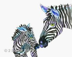 A sweet zebra moment. EDS / Ehlers-Danlos Awareness is pretty sweet too!