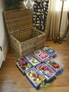 50 Clever Playroom Storage Ideas You Won't Want To Miss 50 Clever Playroom Storage Ideas You Won't Want To Miss<br> Mommy Experts Share 50 Playroom Storage Ideas That Will Turn Your Child's Messy Play Space Into An Organized and Safe Play Haven For Kids. Small Playrooms Too. Kids Playroom Storage, Small Playroom, Playroom Ideas, Ikea Lack Table, Home Living Room, Living Area, Messy Play, Toy Rooms, Hacks