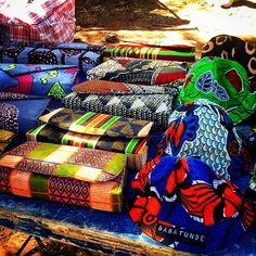 Babatunde Clutch bags ; Kids Hats #AfricanPrint #LocalFashionTrends