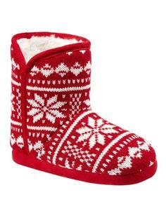 #Zapatillas especial #Navidad ¡Ideales para la Navidad y para los #frioleros!