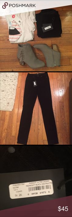 NWT Paige Margot Skinny Distressed Black Cords Manufacturer: Paige Size: 26 Size Origin: US Manufacturer Color: Midnight Black Retail: $185.00 Fit: Style Type: Corduroy Pants Collection: Paige Bottom Closure: Button-Zip Fly Inseam: 29 Inches Rise: 10 Inches Hips Across: Inches Leg Opening: 9 Inches Front Style: Flat Front Back Pockets: Patch Pockets Material: 97% Cotton/3% Elastane Fabric Type: Corduroy Specialty: Destroyed Paige Jeans Jeans Skinny