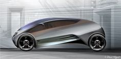 Futuristic Vehicle Concepts from Paul Roget