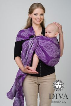 Diva Essenza Linen Ring Sling - Baby Carrier, Baby Wrap