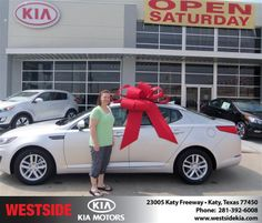 #HappyAnniversary to Michelle Mazyn on your 2013 #Kia #Optima from Baez Orlando at Westside Kia!