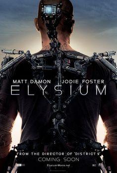 Matt Damon Dons Sci-Fi Gear For 'Elysium' Poster