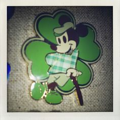 St. Patrick's Day Mickey