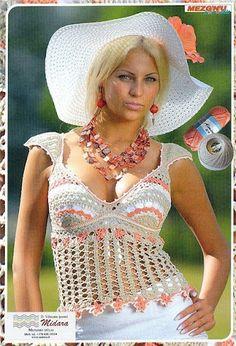 Crochet summer/spring/fall vest/tank top - liveinternet.ru/users/el_75/post265672141/