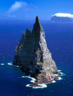 Balls Pyramid, the world's tallest sea stack , at 562 meters, Australia , from Iryna