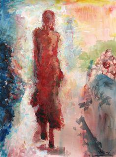 Saatchi Online Artist Amalya  Nane Tumanian; Painting, Fashion Show #art