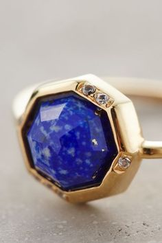 Vesto Lazuli Ring - always reminds me of a galaxy