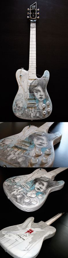 NOUVELLE GUITARE CUSTOM BY MOON !