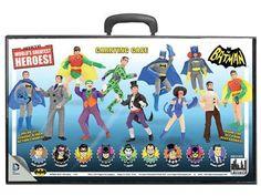 """Batman Retro 8"""" Figure Series 01 - Carrying Case - Batman Batman Classic TV"""
