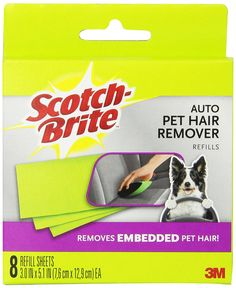 Scotch Fur Fighter Pet Hair Remover Refill (879RF-8) *** Be sure to check out this awesome product.