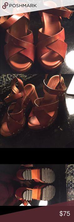 Topshop heels Never worn before heels from topshop online, bought them for $90. Topshop Shoes Heels