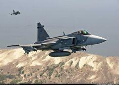 """Czech Air Force SAAB JAS-39C """"Gripens"""""""