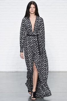 Catwalk photos and all the looks from Yigal Azrouel Spring/Summer 2015 Ready-To-Wear New York Fashion Week