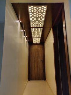 Simple False Ceiling Design, Pvc Ceiling Design, Ceiling Design Living Room, Bedroom False Ceiling Design, Staircase Wall Decor, Home Entrance Decor, Foyer Design, Lobby Design, Living Room Designs India