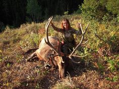 Check out Prois customer Kimberly Mills and her archery bull!  Prois makes the best women's hunting gear on the market.  Check us out at www.proishunting.com!