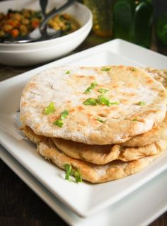Easy, Healthy, Homemade, Whole Wheat, Indian Naan! Great easy recipe to make with your children! Get them involved in the kitchen! | Cheeky