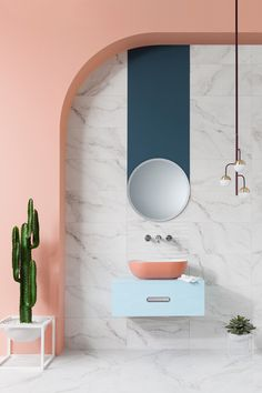 24 Of The Most Stylish Pink Bathroom Ideas For A Stunning Pink Bathroom | Livingetc % | LivingEtcDocument.documentType%