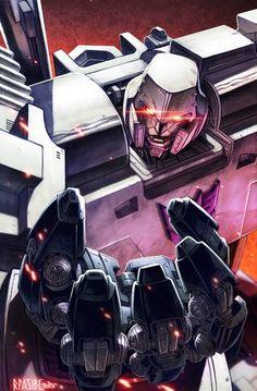 Megatron - Transformers - Ryan Pasibe