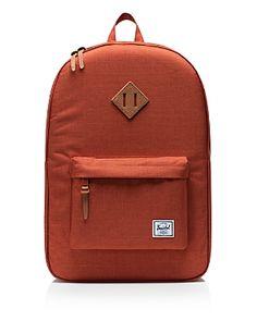 HERSCHEL SUPPLY CO. HERITAGE BACKPACK. #herschelsupplyco. #bags #backpacks