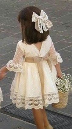 Children and Young Little Girl Dresses, Girls Dresses, Flower Girl Dresses, Toddler Dress, Baby Dress, Frock Patterns, Dress Anak, Kids Frocks, Couture Dresses