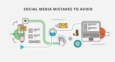Social media is a valuable marketing tool for business. These are common social media mistakes that companies often make which should be avoided.