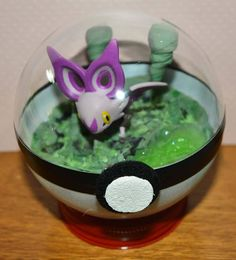 Items similar to Pokeball Terrarium, Noibat Diorama Pokeball with stand, 4 inch, Cave scene. Custom Orders Available on Etsy Pokemon Terrarium, Framed Tv, Punch Bowls, Diorama, Sculpture, Ethnic Recipes, Terrariums, Etsy, Cave