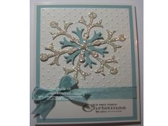 Stampin' Up! Australia - Sue Mitchell: Stampin' Up! Snow Flurry Bigz Die - Christmas Cards