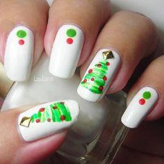 80 Beautiful Christmas Nails Designs
