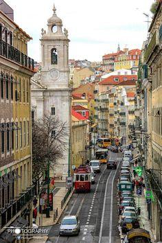 Rua de São Paulo, Lisbon, Portugal