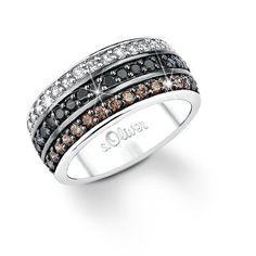 s.Oliver Jewels - 419352 - Bague Femme - Argent 925/1000 6.0 Gr - Zirconium