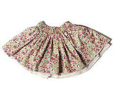 Gonna a ruota Flower - Arsene et les Pipelettes- price 40 euro - shop online www.mirtilla.eu