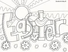 Cool Easter Coloring Pages