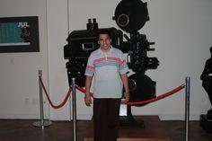 Luxã Nautilho fotografado por um anônimo com uma antiga filmadora, uma verdadeira relíquia,  em exposição no SESC Boulevard em Belém. 22.07.2014