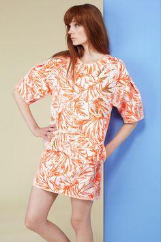 Tropical Trend at Jonathan Saunders Resort 2014 - Resort Fashion Trends 2014 - Harper's BAZAAR
