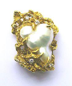Arthur King, pearl pin