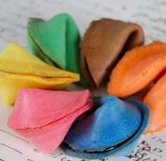 Do It Yourself Fortune Cookies -- Recipe Included