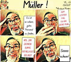 https://www.facebook.com/ComicMueller Müller - Der Comic - Nr. 13 *  Witze und Sprüche