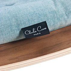 Charlie Crane Levo Babywippe Walnuss Aruba Blue | Jetzt online kaufen ✓…