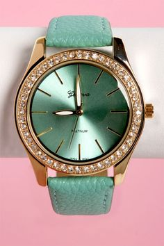 3  Mint Green Watch