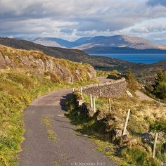 I have been here. And yes, it is that beautiful! Caherdaniel. Kerry. Ireland